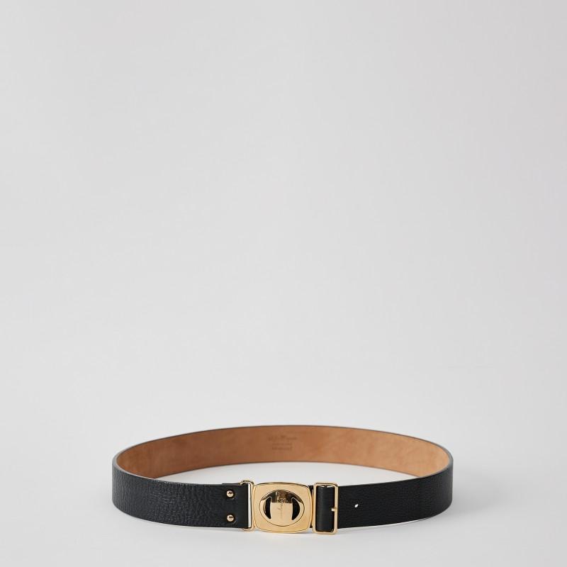 Cintura con fibbia logo Salvatore Ferragamo