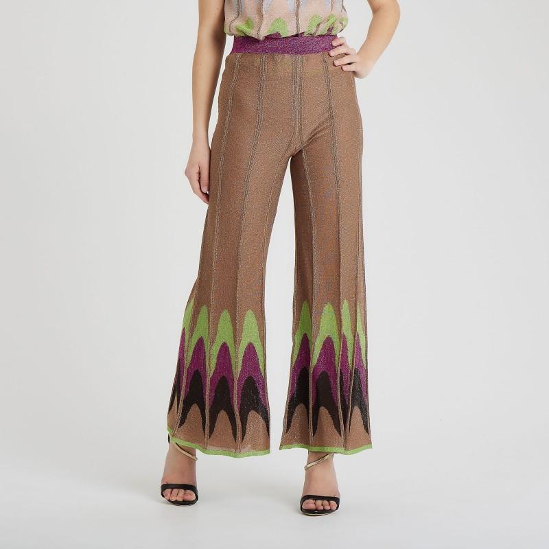 Pantalone ampio lurex M Missoni
