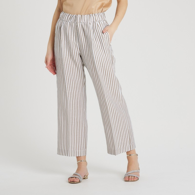 Pantalone a righe Le Tricot Perugia