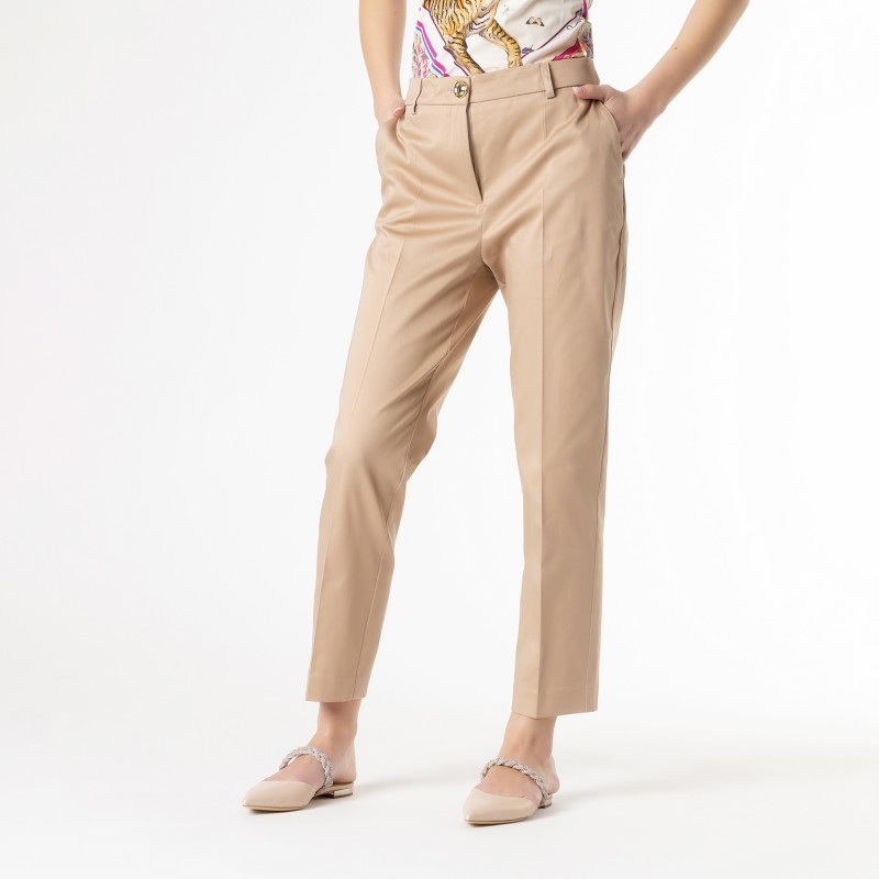 Pantalone in cotone elasticizzato Cavalli Class