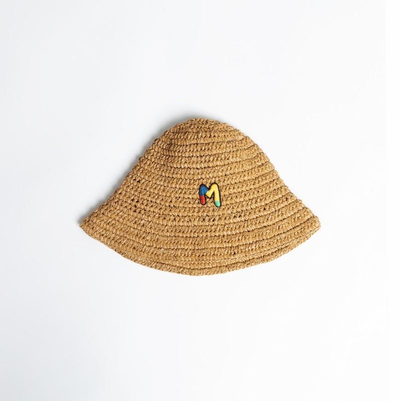Cappello bucket in paglia MMissoni