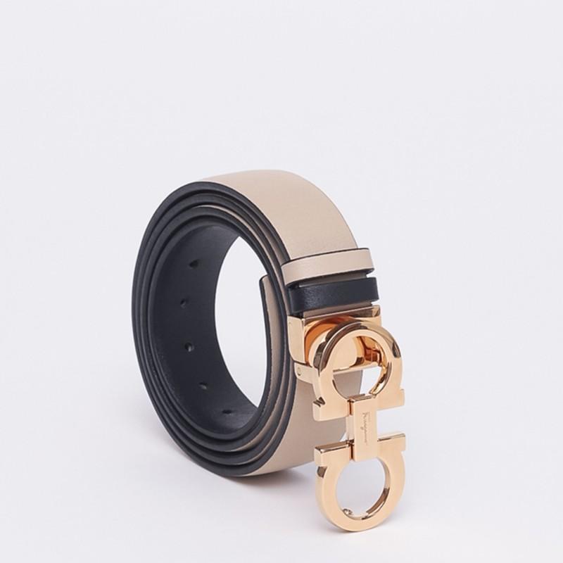 Cintura bicolore Salvatore Ferragamo