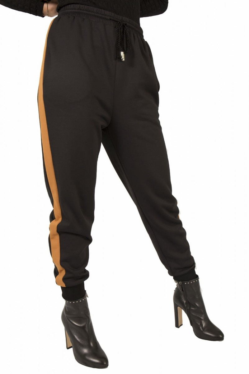 Pantalone jogging con banda laterale MMissoni