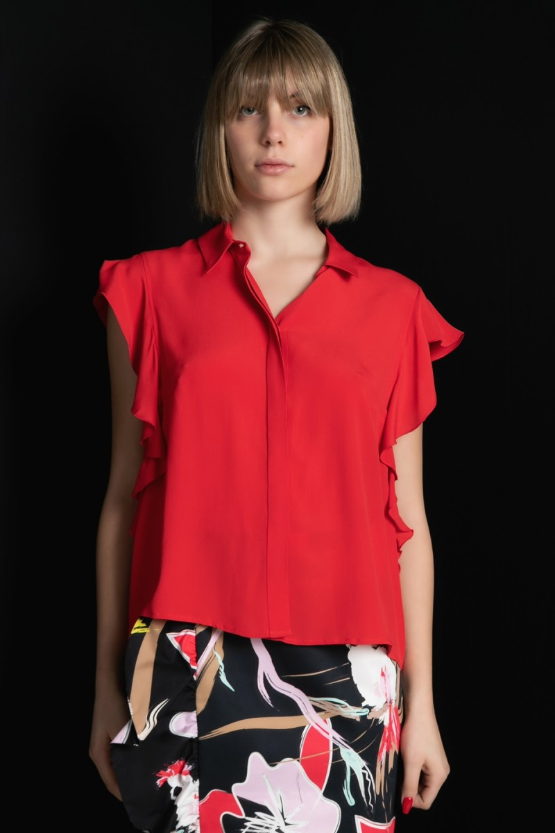 Camicia con rouges Cavalli Class